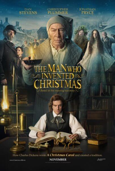 The Man Who Invented Christmas Poster