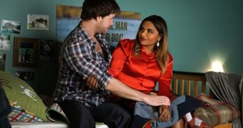 The Mindy Project Mindy Kaling and Ike Barinholtz