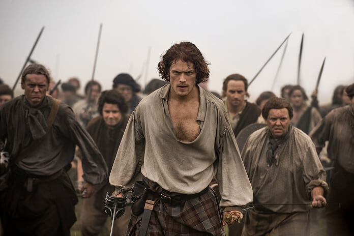 Outlander Season 3 Sam Heughan