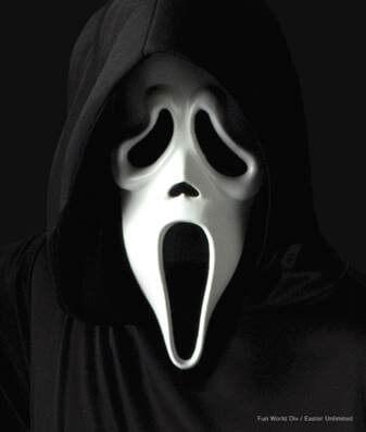 Scream Ghostface Mask