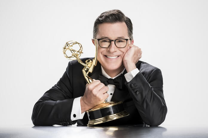 Emmys host Stephen Colbert