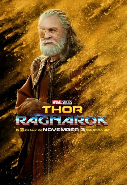 Thor: Ragnarok Anthony Hopkins Poster