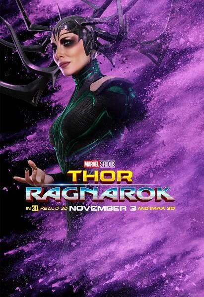 Thor: Ragnarok Cate Blanchett Poster