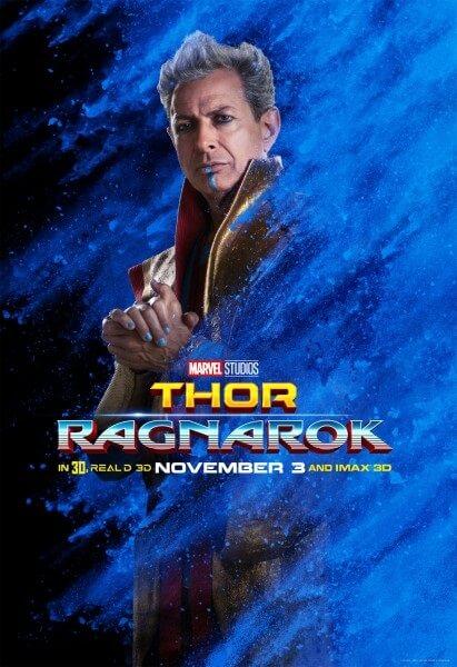 Thor: Ragnarok  Jeff Goldblum Poster