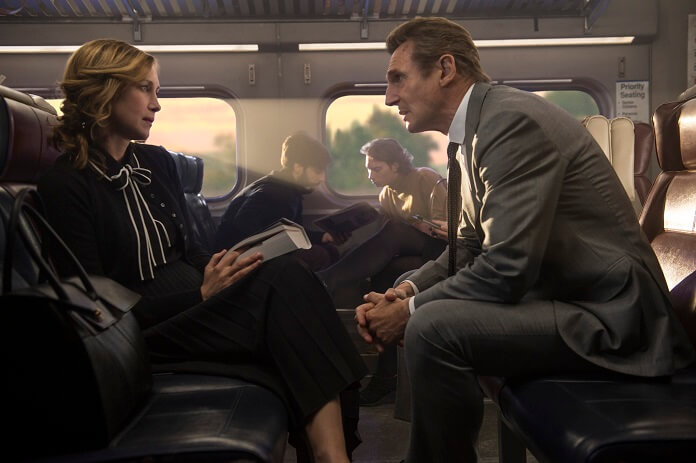 The Commuter stars Liam Neeson and Vera Farmiga
