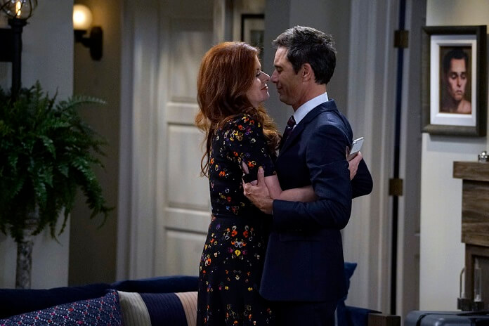 Will & Grace Season 9 Eric McCormack and Debra Messing