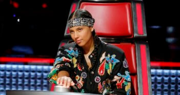 The Voice coach Alicia Keys