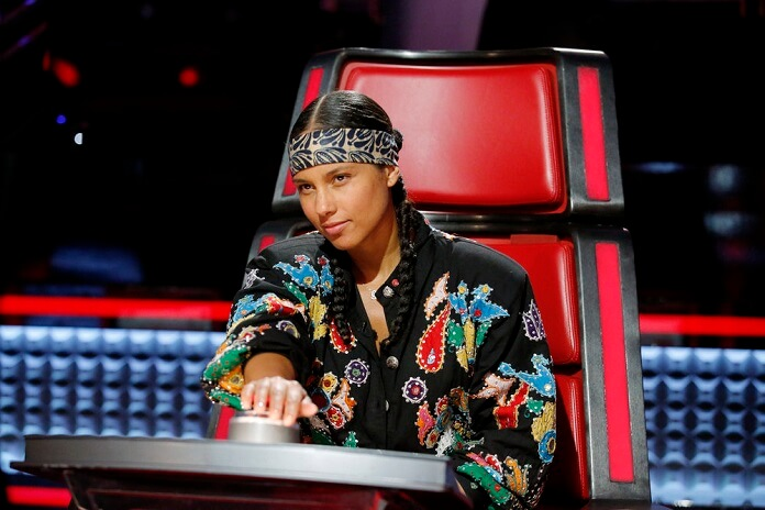 Alicia Keys Returns To NBC's 'The Voice'