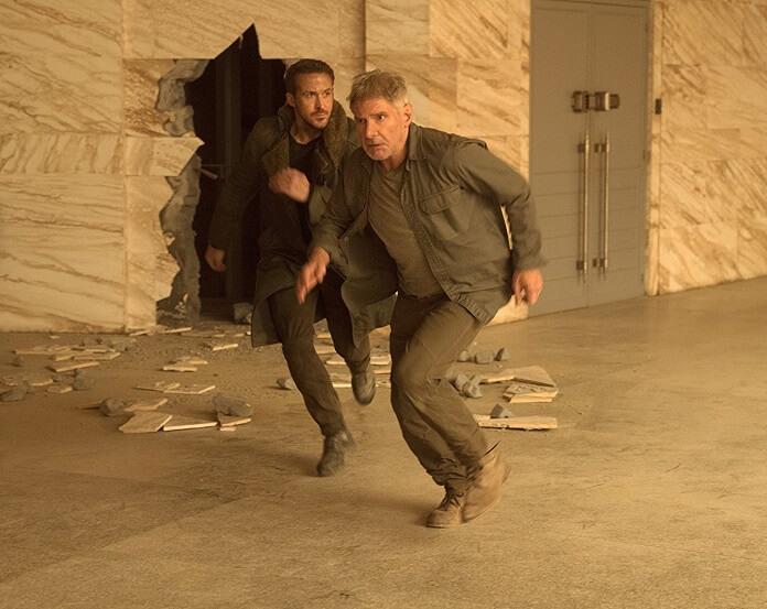 Blade Runner 2049 stars Harrison Ford and Ryan Gosling