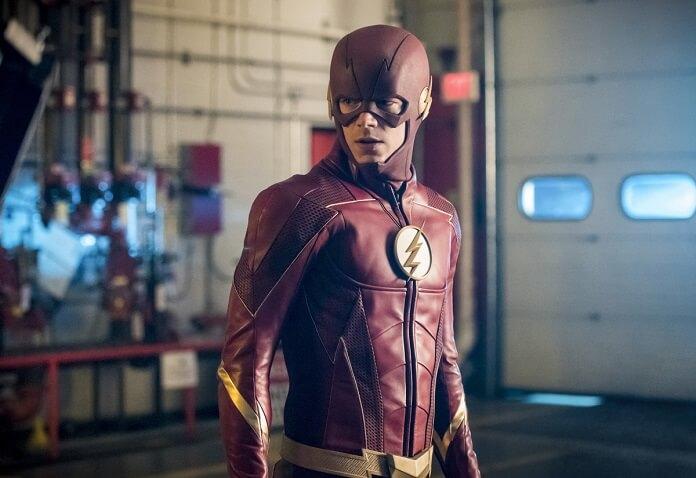 See the New Flash Costume in Episode 4.02 Photos!