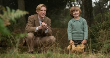 Goodbye Christopher Robin stars Domhnall Gleeson and Will Tilston