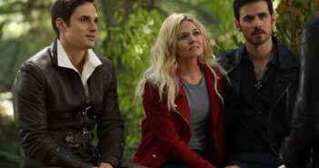 Once Upon a Time Season 7 Emma, Hook, and Henry