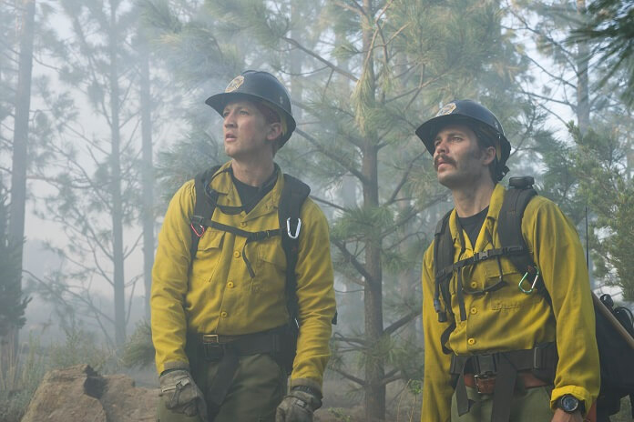 Only the Brave stars Miles Teller and Taylor Kitsch