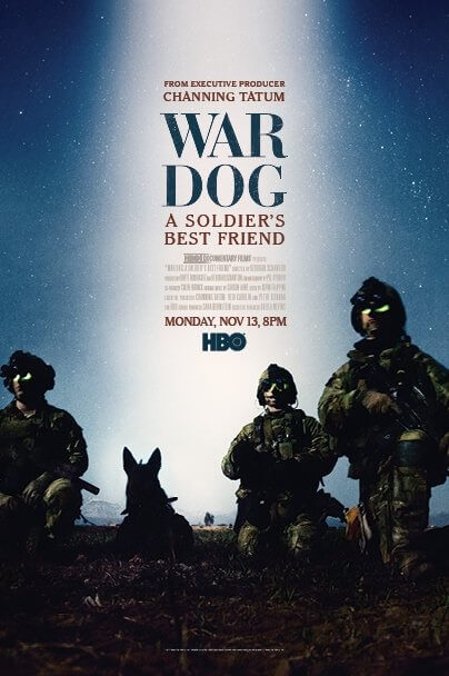 War Dog Documentary Poster