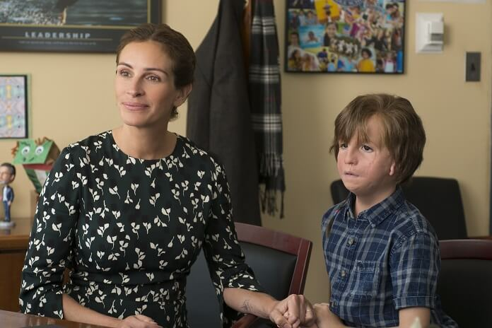 Wonder stars Julia Roberts and Jacob Tremblay