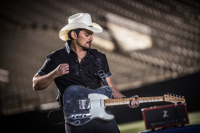 Brad Paisley 2018 Weekend Warrior World Tour