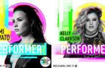 Demi Lovato and Kelly Clarkson American Music Awards