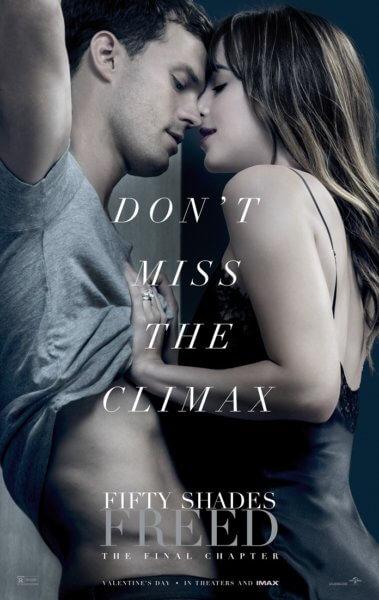 Fifty Shades Freed Poster with Dakota Johnson and Jamie Dornan