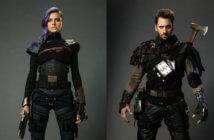 Future Man stars Eliza Coupe and Derek Wilson