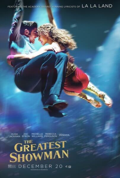 The Greatest Showman Zac Efron and Zendaya Poster