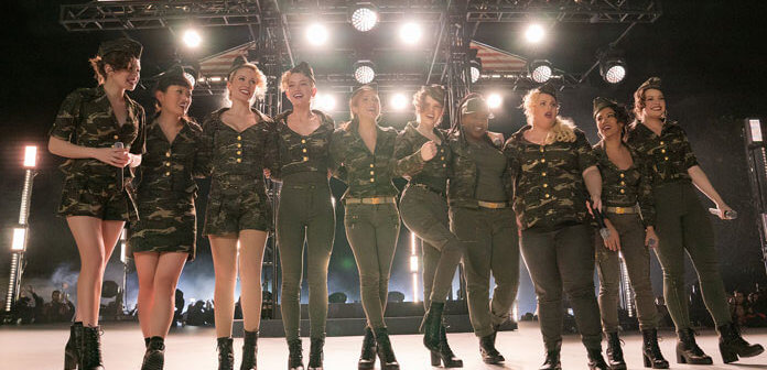 """'Pitch Perfect 3' Stars Join 'The Voice' Top 12 for a """"Freedom!"""" and """"Cups"""" Mashup"""