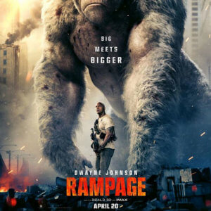 Rampage Starring Dwayne Johnson