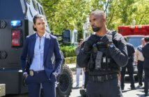 S.W.A.T. stars Shemar Moore and Stephanie Sigman