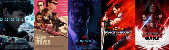 2017 Top 10 Action Movies