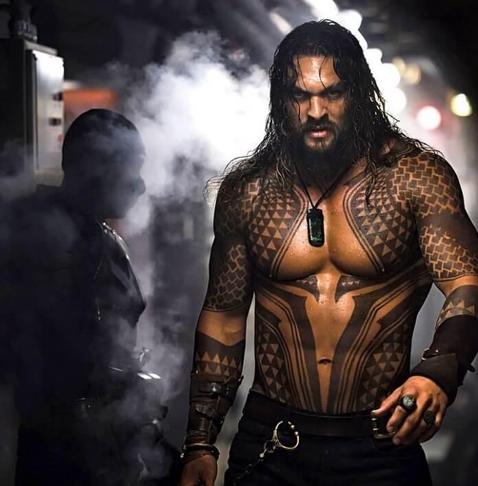 Jason Momoa Tattoos: Box Office Report: Aquaman Swims Past Bumblebee, Mary Poppins