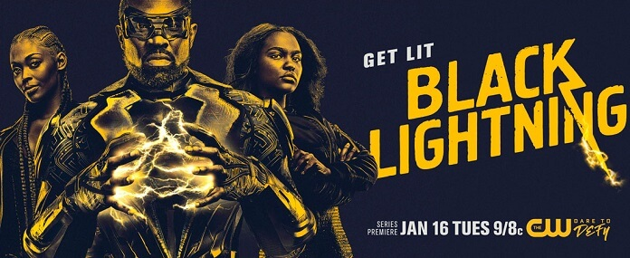 Black Lightning New Season 1 Poster