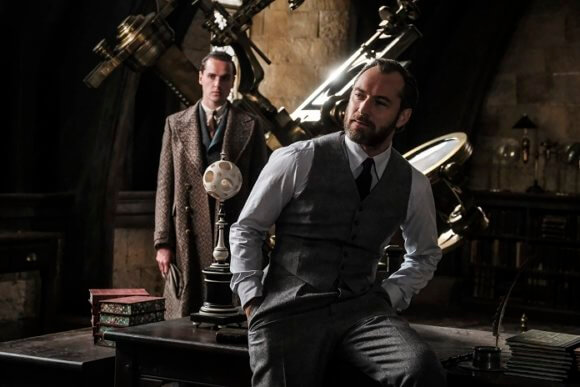 Fantastic Beasts: The Crimes of Grindelwald Jude Law