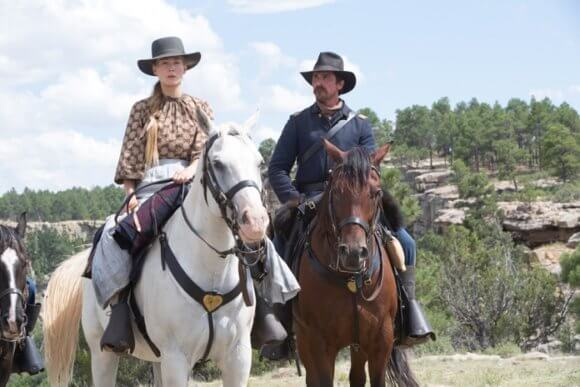 Hostiles with Rosamund Pike and Christian Bale