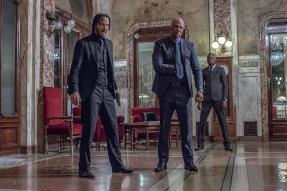 John Wick: Chapter 2 stars Keanu Reeves and Common