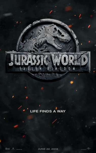 Jurassic World: Fallen Kingdom Poster and Trailer Tease