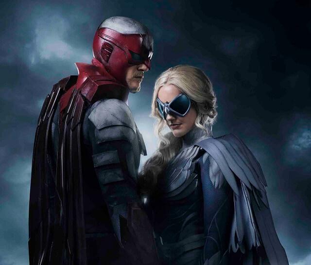 Titans Hawk and Dove Costumes