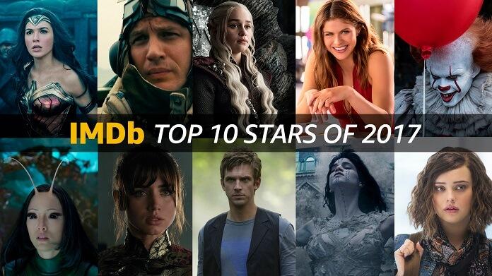 Top 10 Stars of 2017