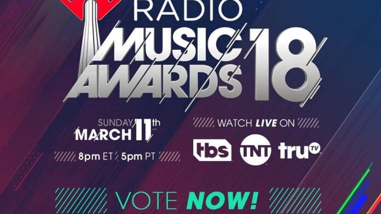 iHeartRadio Music Awards 2018 Nominees Announced