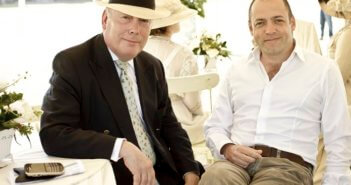Julian Fellowes and Gareth Neame