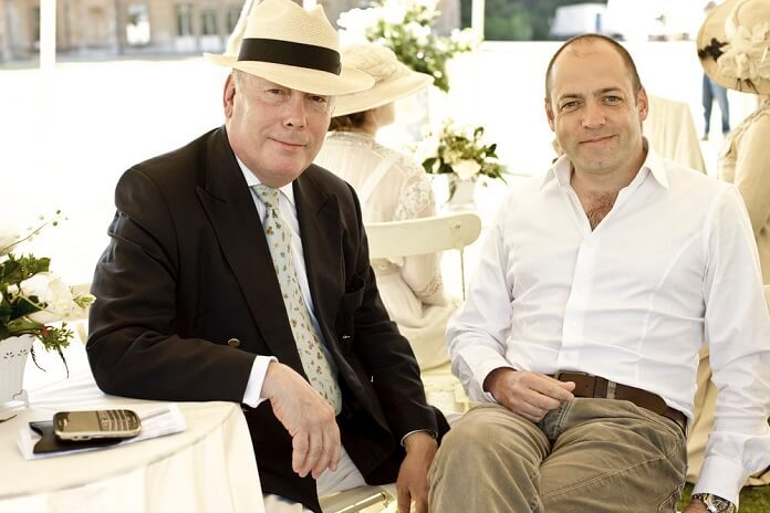 Julian Fellowes and Gareth Neame