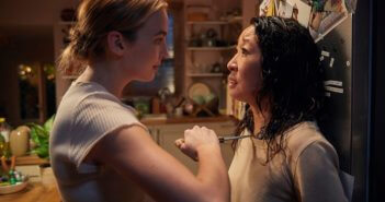 Killing Eve Sandra Oh and Jodie Comer