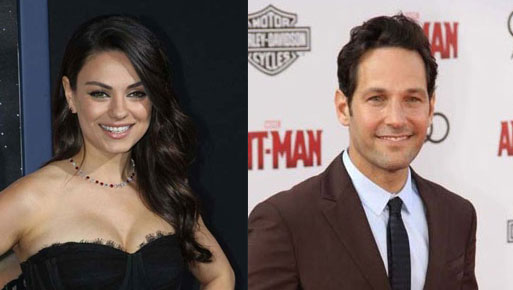 Mila Kunis and Paul Rudd are Hasty Pudding's 2018 Award Winners