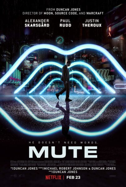 Mute Poster and Trailer