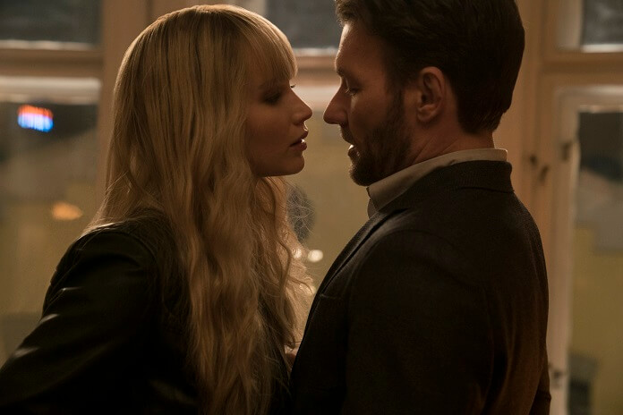 Red Sparrow Jennifer Lawrence and Joel Edgerton