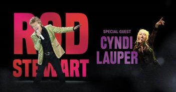 Rod Stewart and Cyndi Lauper Tour Dates