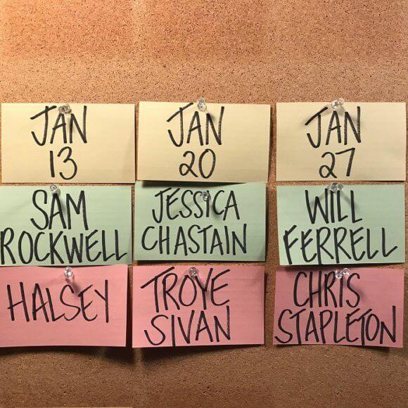 SNL Hosts Sam Rockwell