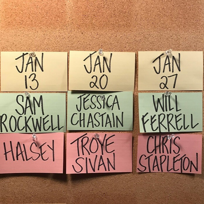 SNL Sets Sam Rockwell, Jessica Chastain, And Will Ferrell