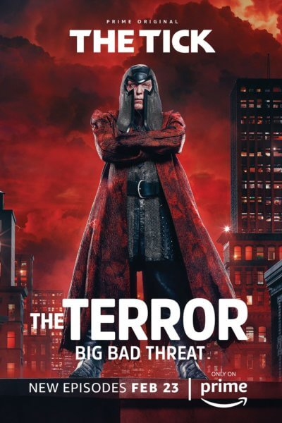 The Tick Season 1 Part 2 The Terror Poster