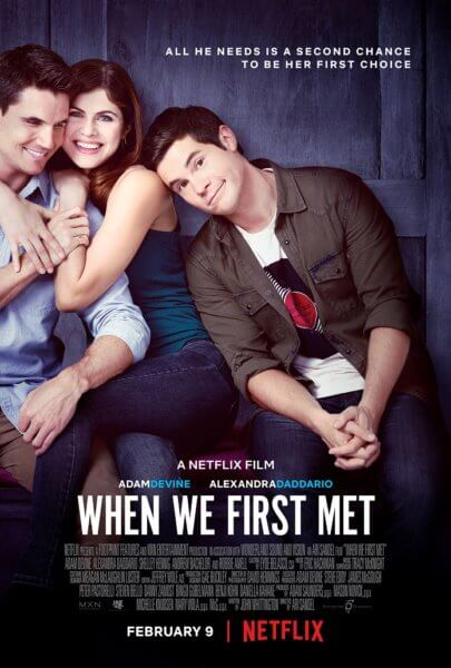 When We First Met Poster and Trailer