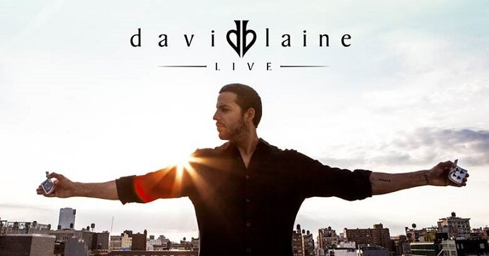 David Blaine Live Tour 2018 Dates