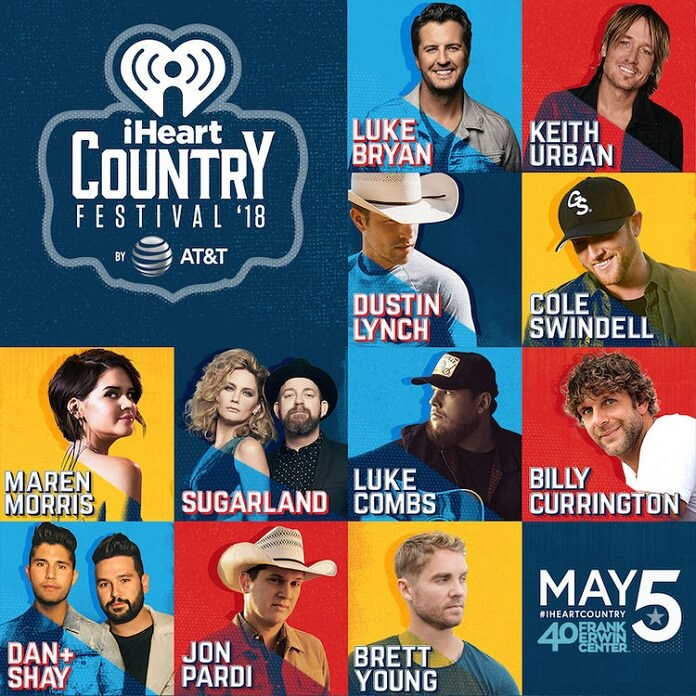 Spring Musical 2018: IHeartCountry Festival 2018 Performers Announced